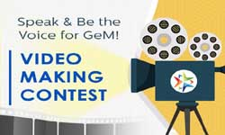 Speak & Be the voice for GeM! - Video Making Contest