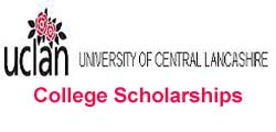 University of Central Lancashire Scholarships
