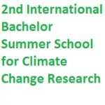 2nd International Bachelor Summer School for Climate Change Research