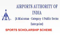 Airports Authority of India (AAI) Sports Scholarships