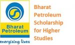Bharat Petroleum Scholarship for Higher Studies