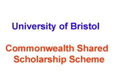 Commonwealth Shared Scholarship Scheme