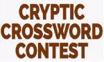 Cryptic Crossword Contest (CCCC) 2018