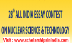 28th ALL INDIA ESSAY CONTEST ON NUCLEAR SCIENCE & TECHNOLOGY