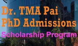 Dr.TMA Pai PhD Scholarship Program