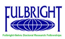 Fulbright-Nehru Doctoral Research Fellowships 2019-2020