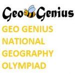Geo Genius National Geography Olympiad 2019-2020