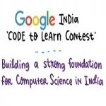 Google India Code to Learn Contest 2019