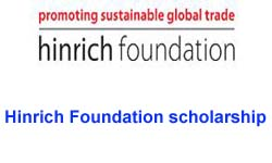 Hinrich Foundation scholarship