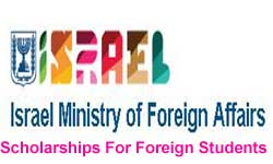 Israel Ministry of Foreign Affairs Scholarships