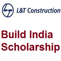 L&T Build India scholarship - 2019