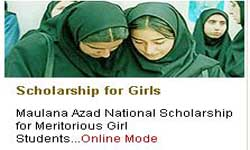 Maulana Azad National Scholarship for Girls