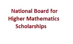 National Board for Higher Mathematics Scholarships