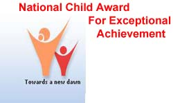 National Child Award For Exceptional Achievement