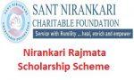 Nirankari Rajmata Scholarship Scheme