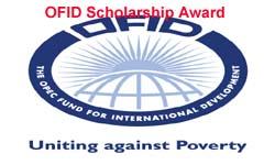The OFID Scholarship Program