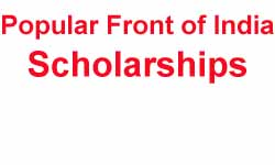 Popular Front of India Scholarship