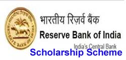RBI Scholarship Scheme for Faculty Members from Academic Institutions