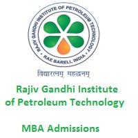 Rajiv Gandhi Institute of Petroleum Technology MBA Admissions 2019