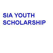 SIA Youth Scholarship 2019