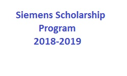 Siemens Scholarship Program