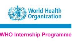 WHO Internship Programme