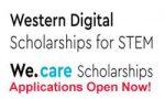 We.care Scholarships & Western Digital Scholarships for STEM