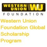 Western Union Foundation Global Scholarship Program