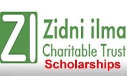 Zidni Ilma Charitable Trust Scholarship