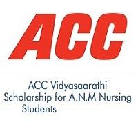 ACC Vidyasaarathi Scholarship for ANM Nursing Students