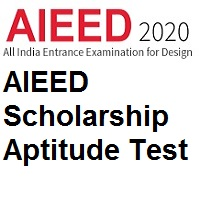 All India Entrance Examination for Design AIEED Scholarship Aptitude Test