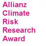 Allianz Climate Risk Research Award