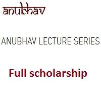 Anubhav Lecture Series Full Scholarship