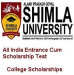 APG Shimla University All India Entrance Cum Scholarship Test