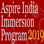 Aspire India Immersion Programme 2019