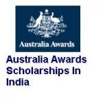 Australia Awards Scholarships In India