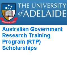 Australian Government Research Training Program (RTP) Scholarships