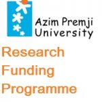 Azim Premji University Research Funding Programme