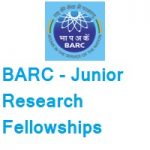 Bhabha Atomic Research Centre (BARC) Junior Research Fellowships