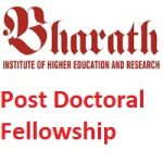 Bharath Institute of Higher Education and Research BIHER POST-DOCTORAL RESEARCH