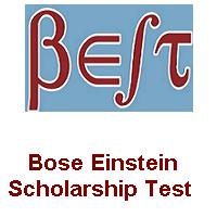 Bose Einstein Scholarship Test For Indian Students