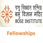 Bose Institute Junior Research Fellow