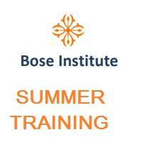 Bose Institute Summer Training 2019