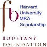 Boustany MBA Harvard Scholarship