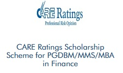 CARE Ratings Scholarship Scheme