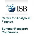 Centre for Analytical Finance Summer Research Conference