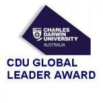 Charles Darwin University GLOBAL LEADER AWARD