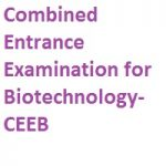 Combined Entrance Examination for Biotechnology CEEB