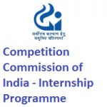 Competition Commission of India Internship Programme