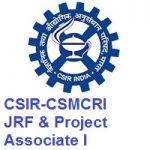 CSIR-Central Salt and Marine Chemicals Research Institute JRF And Project Associate I